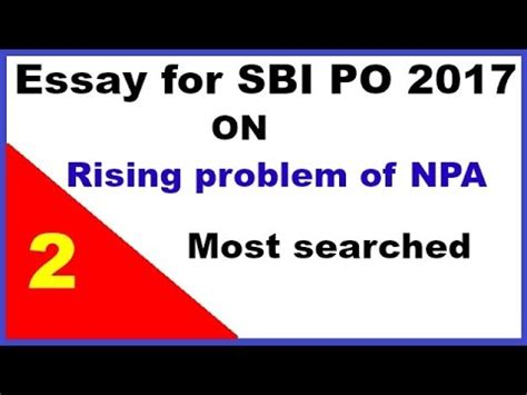 Research paper on npa of banks 2017 list
